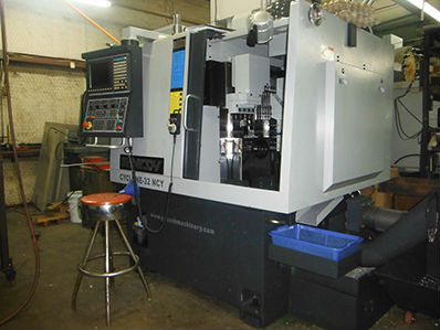 CNC Lathe Turning Machines in our CNC Machine Shop in Dallas Fort Worth Texas TX Ganesh CYCLONE 4th Y Axis Turn-Mill Machine Center