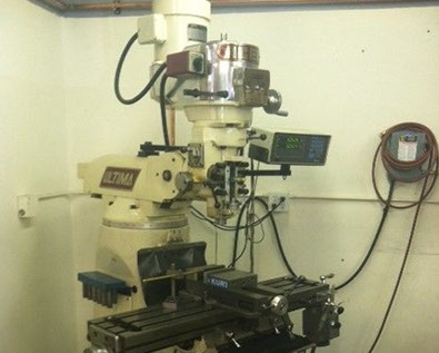 Ultima Manual Mill in our CNC Machine Shop