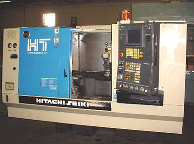 Hitachi Seiki CNC Lathe Turning Machines in our CNC Machine Shop in Dallas Fort Worth Texas TX